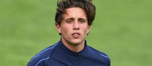 Luca Pellegrini, terzino in prestito del Cagliari.