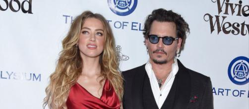 Mais um áudio com as conversas entre Johnny Depp e Amber Heard é divulgado. (Arquivo Blasting News)