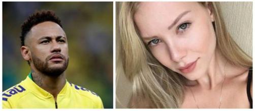 Najila diz que vai processar Neymar por patrocinar prostituição. (Arquivo Blasting News)