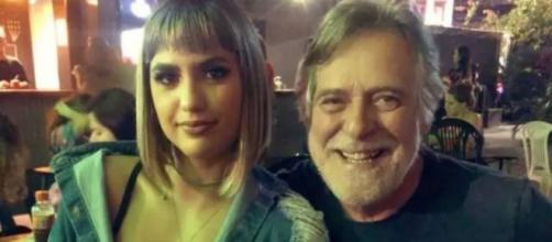 O ator José de Abreu e a mulher Carol Junger. (Reprodução/Instagram/@josedeabreu)
