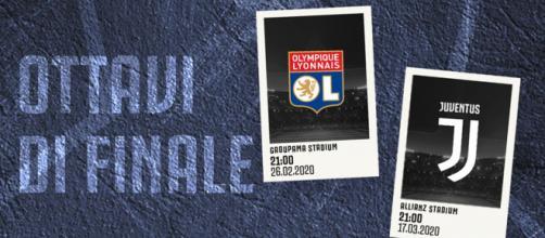 Olympique Lione-Juventus agli ottavi di finale