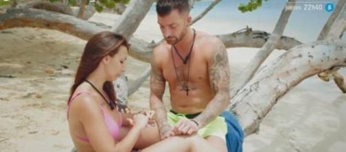 Ruben y Fani en 'La isla de las tentaciones'