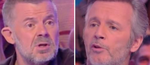 TPMP : Guerre ouverte entre Eric Naulleau et Jean-Michel Maire qui s'insultent en direct. Credit: Capture C8