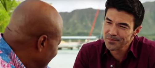 """Hawaii Five-O"" finds Adam walking a thin line but things come to life and death for Grover's niece. [Image source:TVSpoilers-YouTube]"