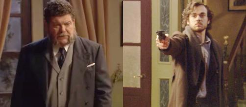 Il Segreto, trame Spagna: Matias incolpa Mauricio per l'incidente accorso a Camelia.