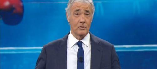 Massimo Giletti, il conduttore di Non è l'Arena.