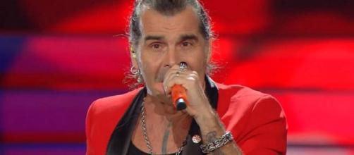 Piero Pelù, quinto al 70° Festival di Sanremo.