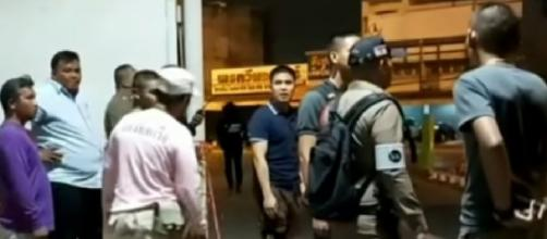 Thailand shooting leaves 20 dead. [Image source/ABC News YouTube video]