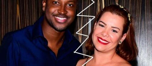 Após aparecer com aliança, web especula que Thiaguinho e Fenanda tenham voltado com o romance. (Arquivo Blasting News)