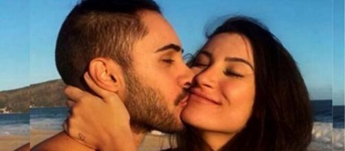 Boca Rosa e Diogo Melim anunciaram o fim do namoro oficialmente. (Reprodução/ TV Globo).