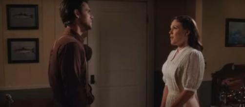March brings a 'When Calls the Heart' marathon to Hallmark drama, and more revelations from Nathan. [Image Source: TVPromos/YouTube]