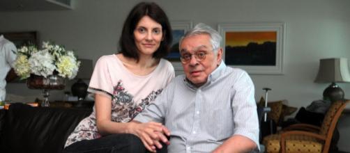 Chico Anysio e Malga Di Paula. (Arquivo Blasting News)