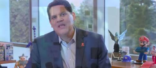 former Nintendo of America President Reggie Fils-Aimé has joined the GameStop Board of Directors. [Image Source: IGN/YouTube]