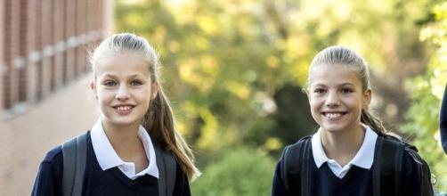Leonor y Sofía no le tienen miedo al coronavirus: asistirán al colegio