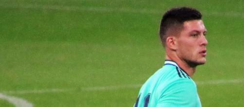 Luka Jovic sarebbe finito nel mirino del Napoli