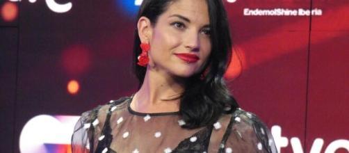 OT 2020/ Natalia Jiménez vuelve a enfadar al público: mascando chicle y desafiante.