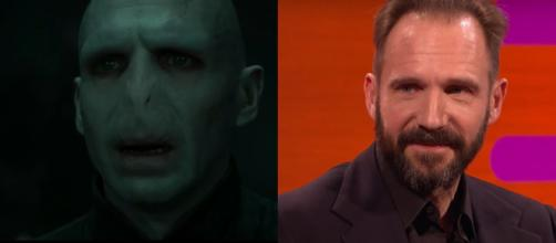 Ralph Fiennes interpretou Lord Voldemort. (Reprodução/Warner Bros. Entertainment/Youtube/BBC)