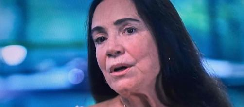 Regina Duarte recebe ataque de olavistas. (Arquivo Blasting News)