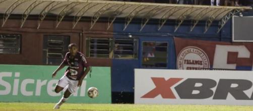 Tilica sofreu injuriais raciais na vitória do Caxias contra o São Luiz. (Reprodução/Luiz Erbes/S.E.R Caxias)