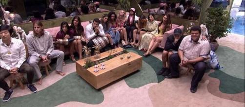 Brothers em noite de Eliminação. ( Reprodução/TV Globo )