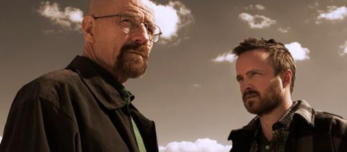 """Famosos de """"Breaking Bad"""" atualmente. (Reprodução/AMC)"""
