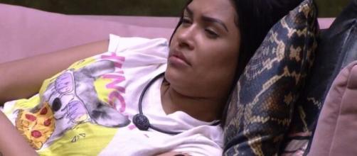 Flayslane conversa com Pyong e Mari na sala do 'BBB20'. (Reprodução/TV Globo)