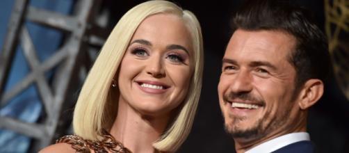 Grávida, Katy Perry adiou casamento pelo coronavírus. (Arquivo Blasting news)