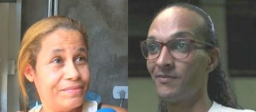 Mãe de criança morta por Suzy lamenta a reportagem feita pela Rede Globo. (Fotomontagem)