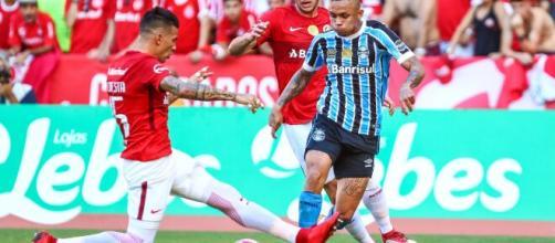 Primeiro duelo Grêmio x Inter pela Libertadores será disputado nesta quinta-feira (12). (Lucas Uebel/Grêmio FBPA)