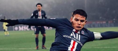 PSG : Thiago Silva ne jouera pas contre Dortmund. Credit : Instagram/thiagosilva