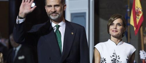 rey Felipe VI y la reina Letizia Ortiz