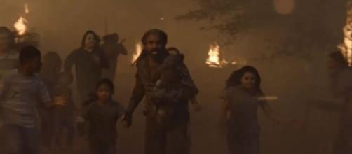 The Walking Dead 10x12: Aaron e Negan si incontreranno nel bosco