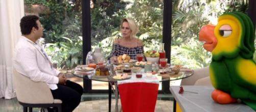 Victor Hugo, Ana Maria Braga e Louro José no 'Mais Você'. ( Reprodução/TV Globo )