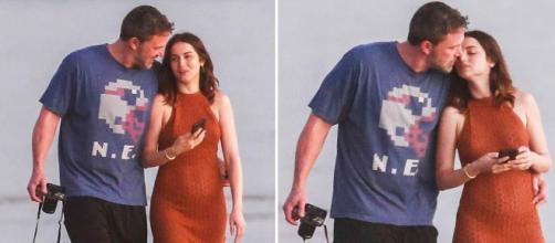 Ben Affleck y Ana de Armas no esconden su amor. - dailymail.co.uk