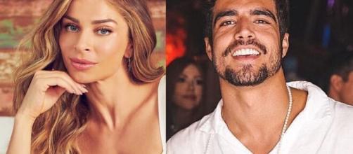 Grazzi Massafera e Caio Castro estariam morando juntos de acordo com colunista. (Foto: Instagram/@massafera/@caiocastro).