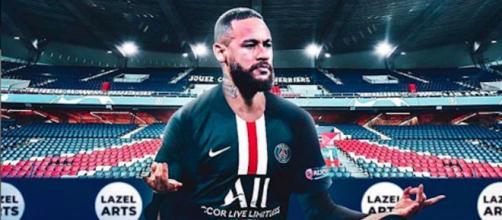 Neymar une qualification avec le PSG qui tombe à pic. Credit : Instagram/Neymarjr