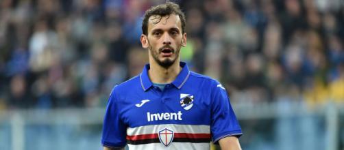 Sampdoria, Manolo Gabbiadini positivo al coronavirus. foto di pagineromaniste.com.