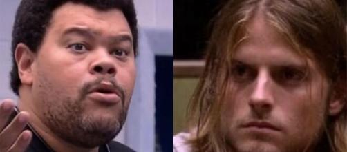 Babu Santana desabafou mais uma vez sobre Daniel, e ressaltou que sofria racismo dentro da casa. (Reprodução/TV Globo)