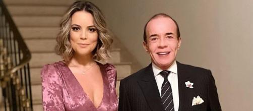Chiquinho Scarpa apresenta nova namorada. (Foto/Instagram/@conde_chiquinho_scarpa)