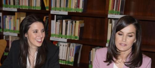 Irene Montero y la reina Letizia, juntas el pasado 6 de marzo.