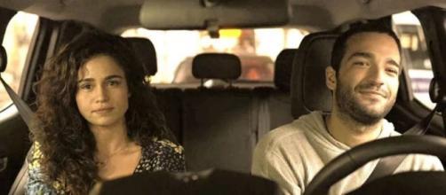 """O relacionamento de Érica e Sandro vai desandar em """"Amor de Mãe"""". (Reprodução/TV Globo)"""
