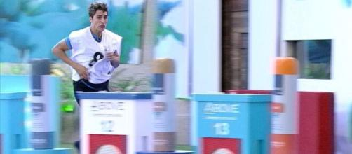 Prior venceu a Prova do Líder, e tem o poder da casa nesta semana. (Reprodução/ TV Globo).