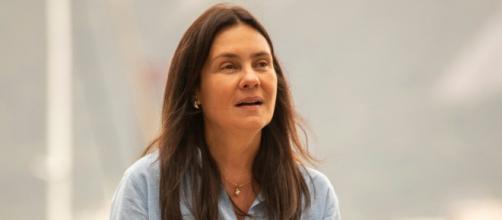 Adriana Esteves interpreta Thelma em 'Amor de Mãe'. (Reprodução/TV Globo)