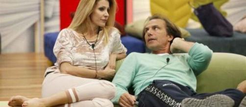 Adriana Volpe e Antonio Zequila: coppia a carte.
