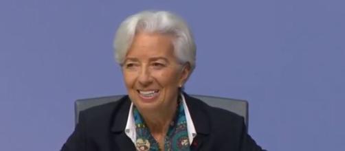 Christine Lagarde, presidente della Bce.