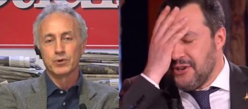 Marco Travaglio critica Matteo Salvini nell'ultimo editoriale sul Fatto Quotidiano