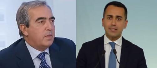 Maurizio Gasparri e Luigi Di Maio.