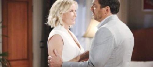Beautiful, trame USA: Ridge chiede scusa a Brooke per aver dubitato di lei.