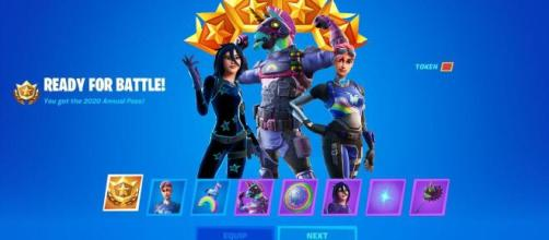 'Fortnite' data miners have discovered what the new Annual Battle Pass looks like. [Image Credit: GuidingLight /YouTube]