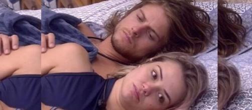 Marcela do 'BBB20' falou sobre a dificuldade de se relacionar com o namorado. (Reprodução/ TV Globo).